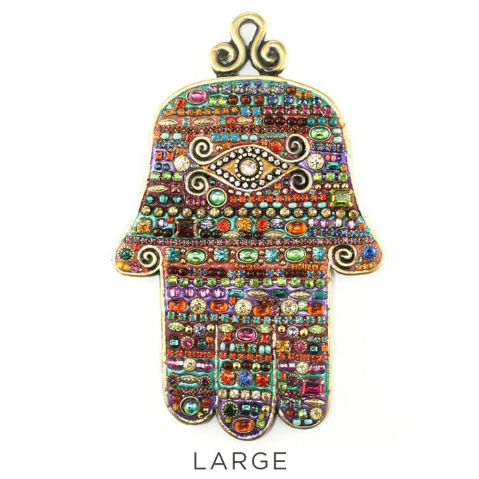 Multi-Bright Eye Wall Hamsa
