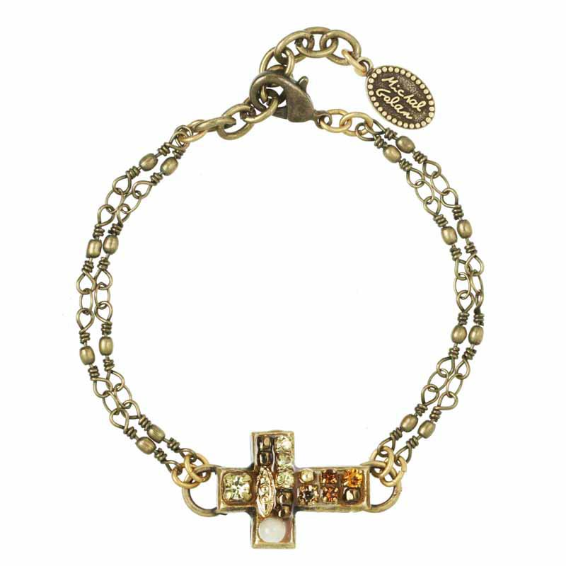 Earth Cross Chain Bracelet