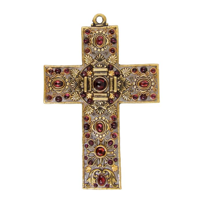 Garnet Wall Cross