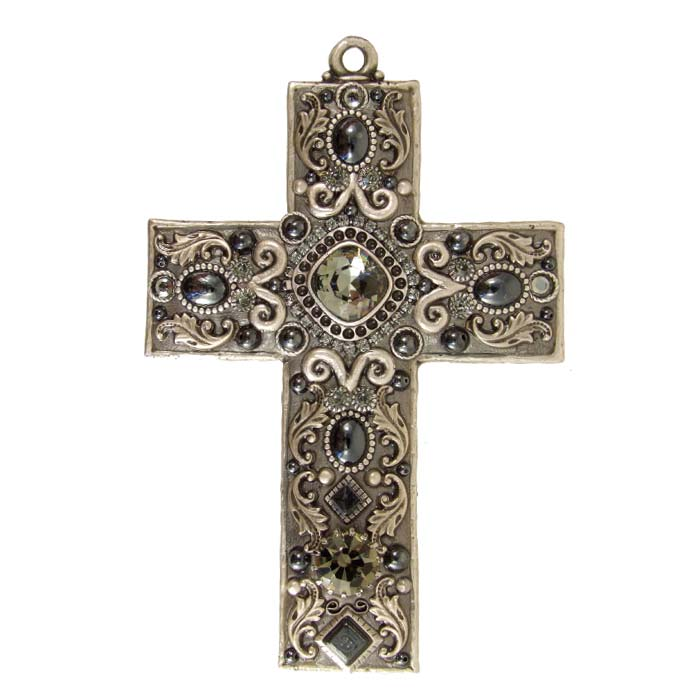 Hematite Wall Cross