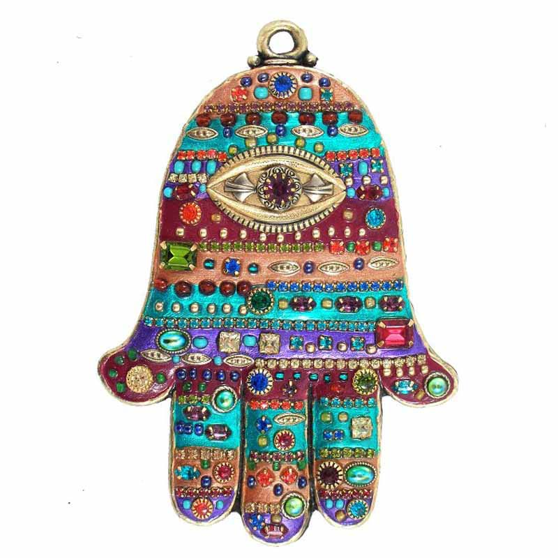 Multi-Bright Wall Hamsa