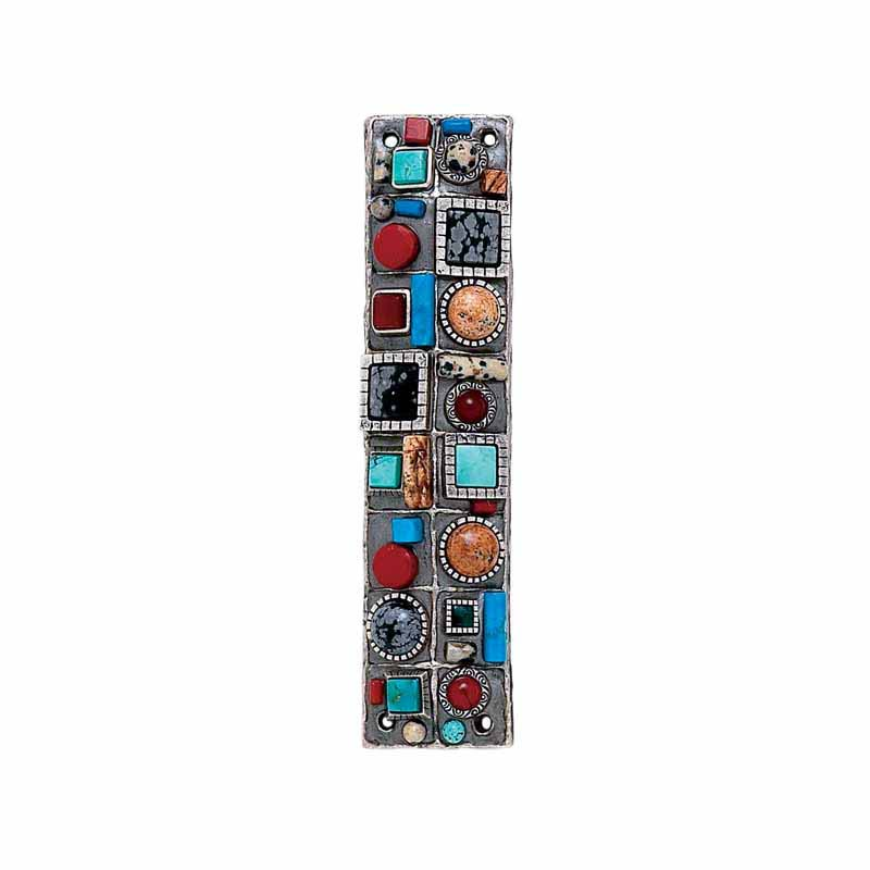 Mezuzah with Stones