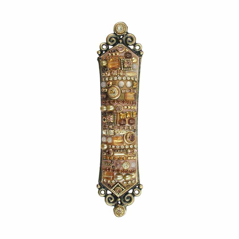 Mezuzah in Multi-Gold