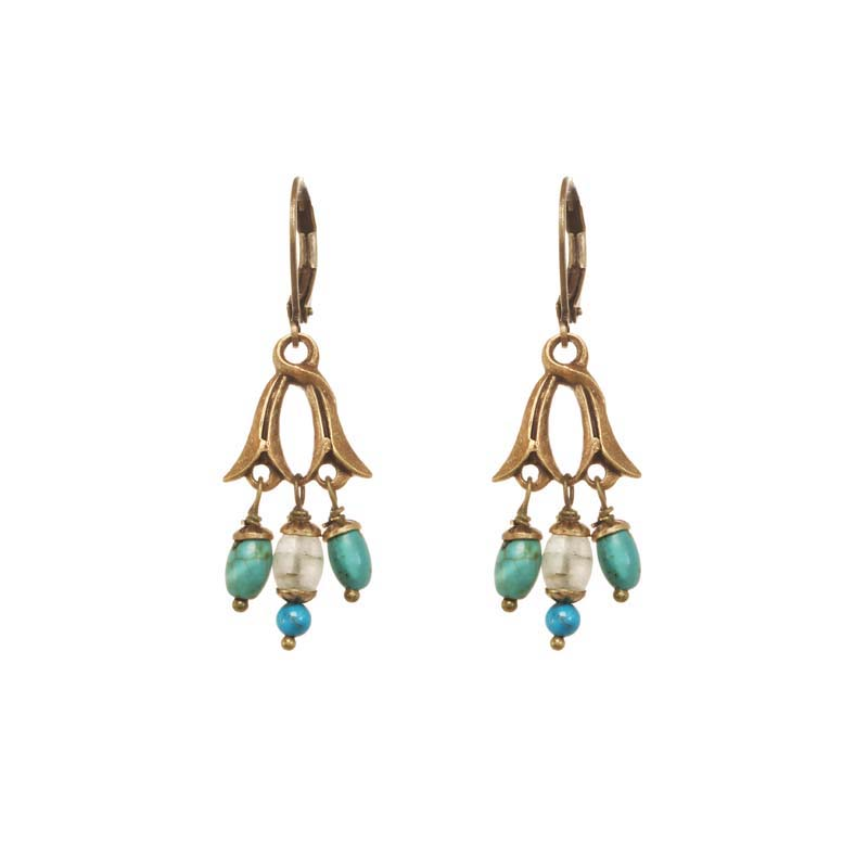 Nile Chandelier Earrings