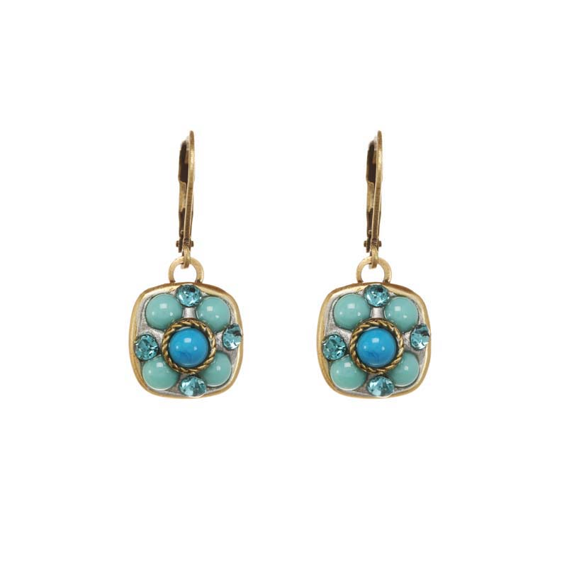 Nile Square Earrings