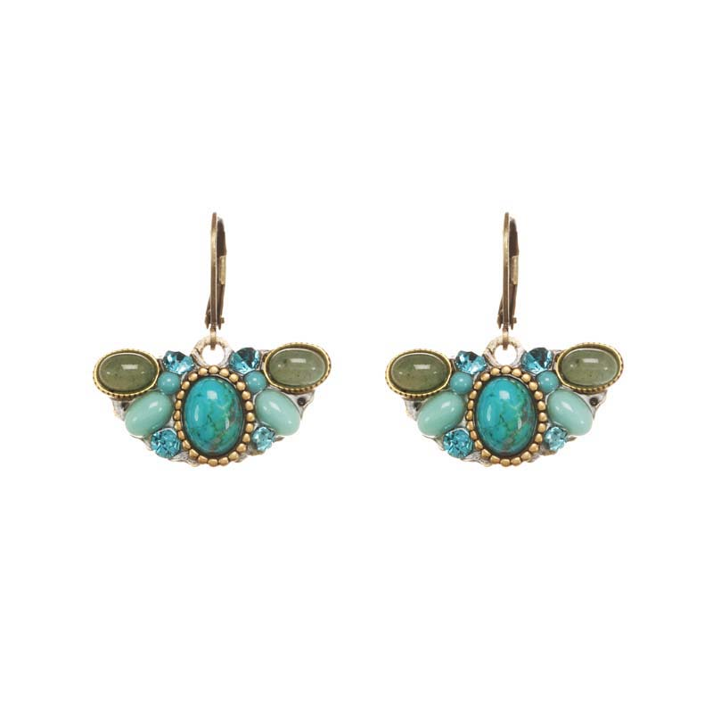 Nile Crescent Earrings