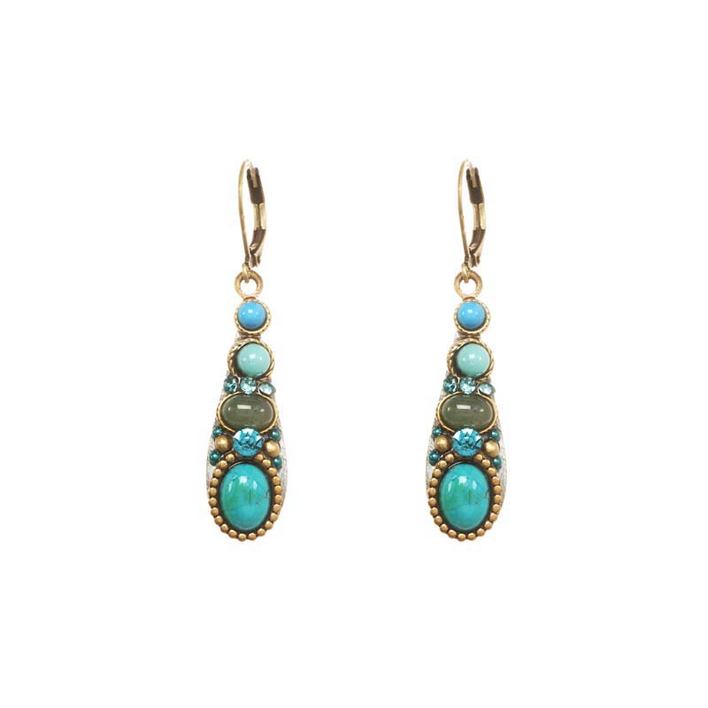 Nile Teardrop Earrings