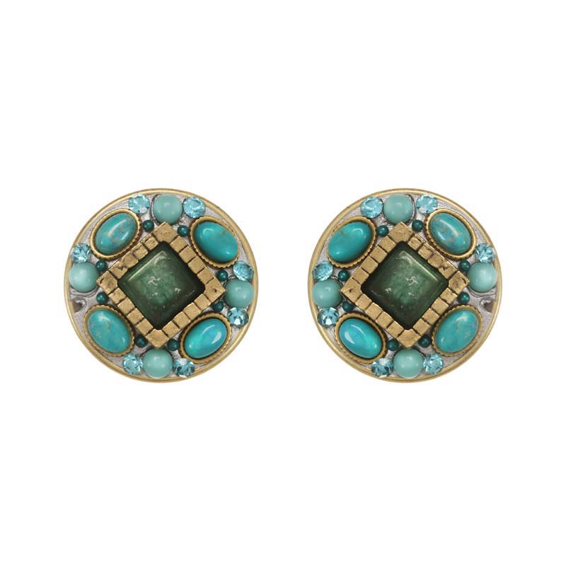 Nile Circle II Post Earrings