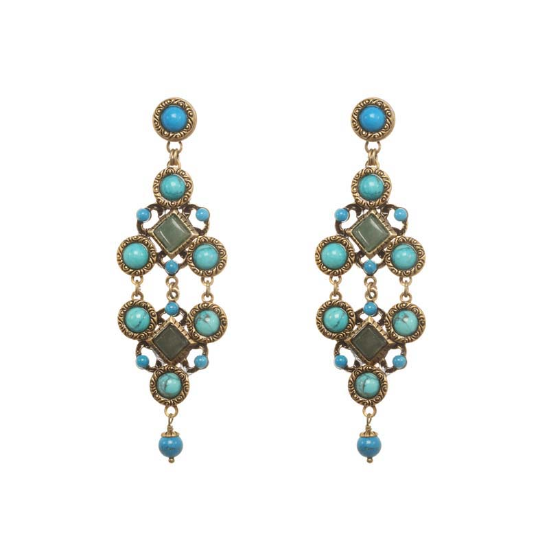 Nile Statement Earrings
