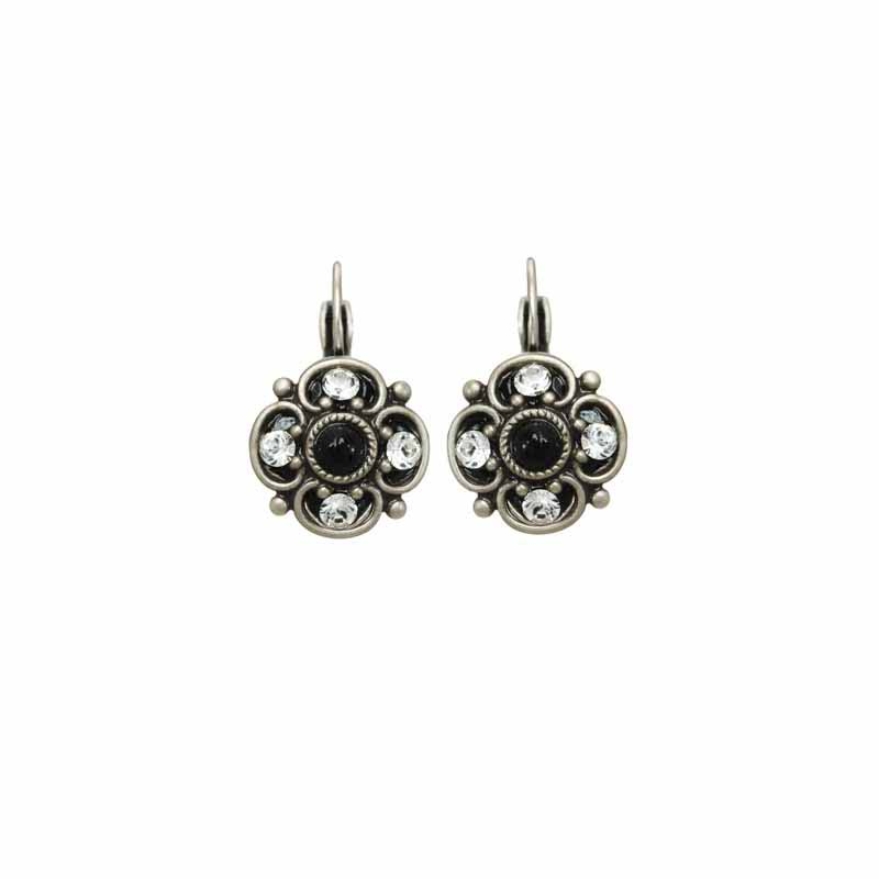 Galaxy small flower earring on french wire