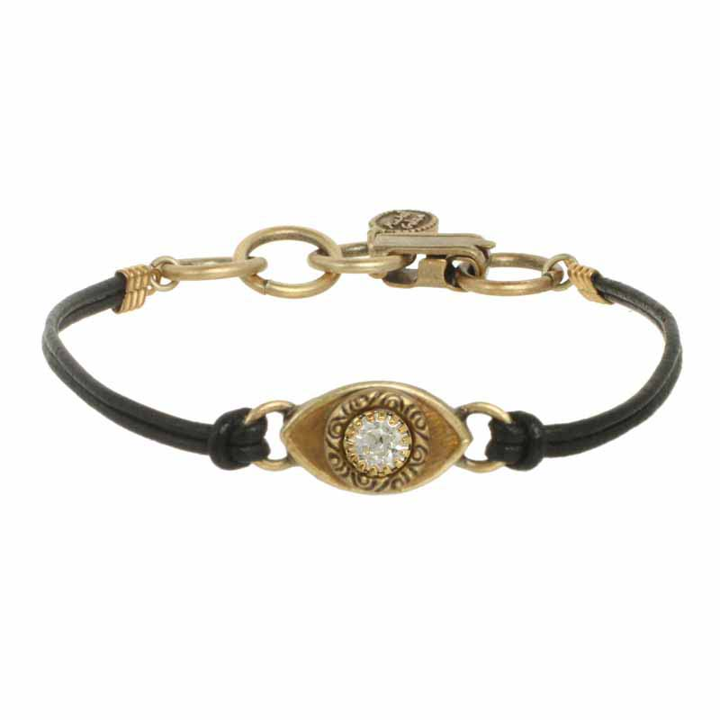 Mini Gold Evil Eye Bracelet II