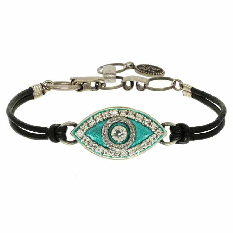 Mint Green Evil Eye Bracelet