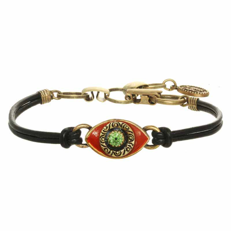 Mini Scarlet Evil Eye Bracelet
