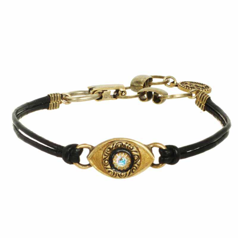 Mini Gold Evil Eye Bracelet