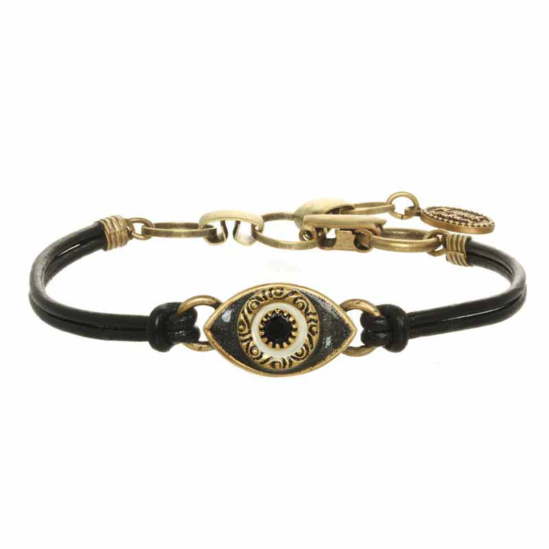 Mini Black Evil Eye Bracelet