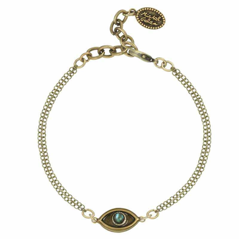 Tiny Abalone Eye Bracelet