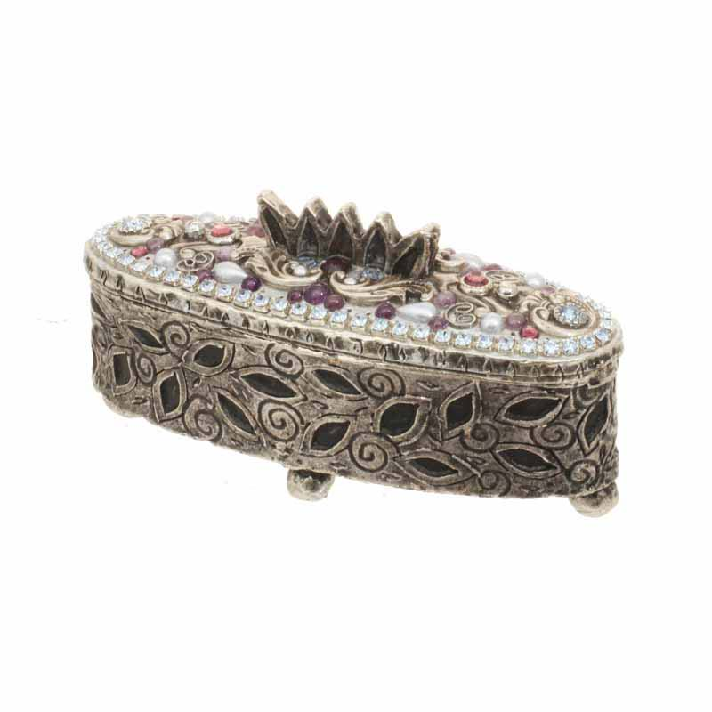 Elongate Oval Jewelry Box