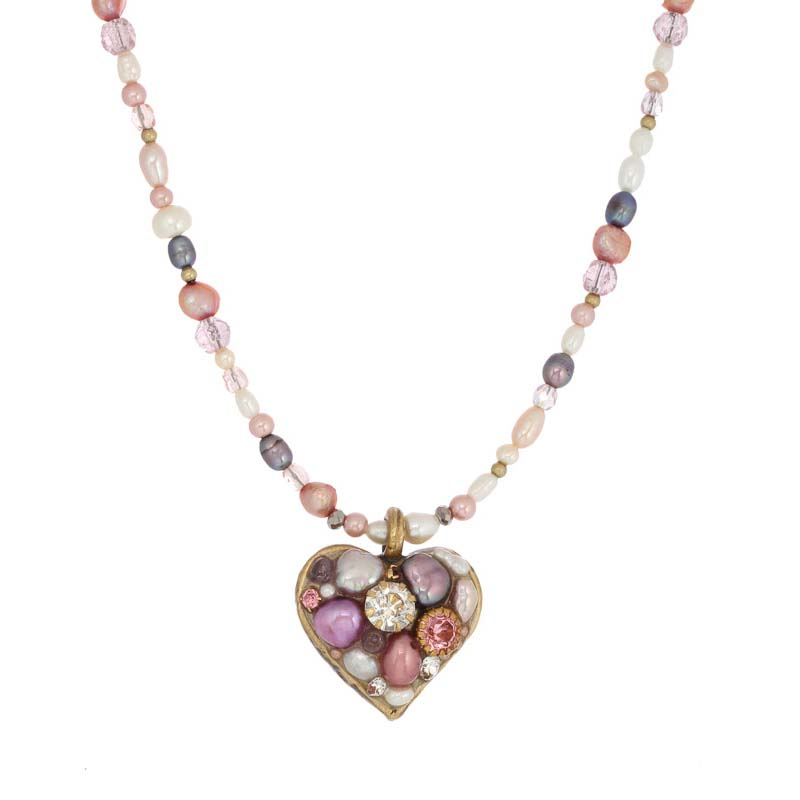 Constellation Heart Necklace