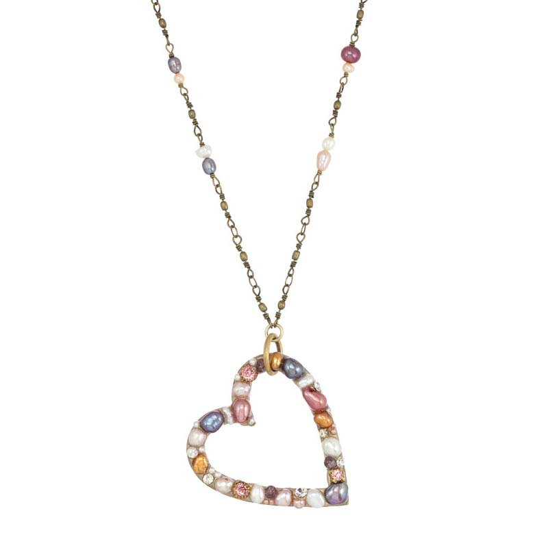 Constellation Open Heart Necklace
