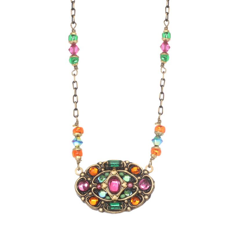 Prismatic Oval Necklace