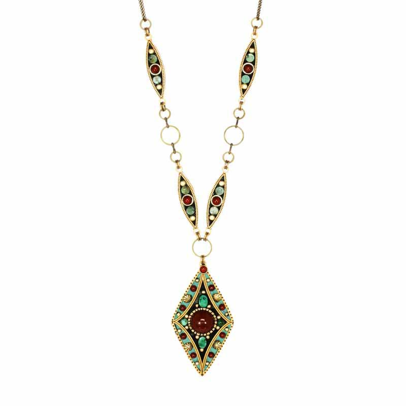 Earth Diamond Necklace