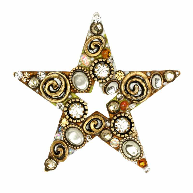 Champagne Star Pin