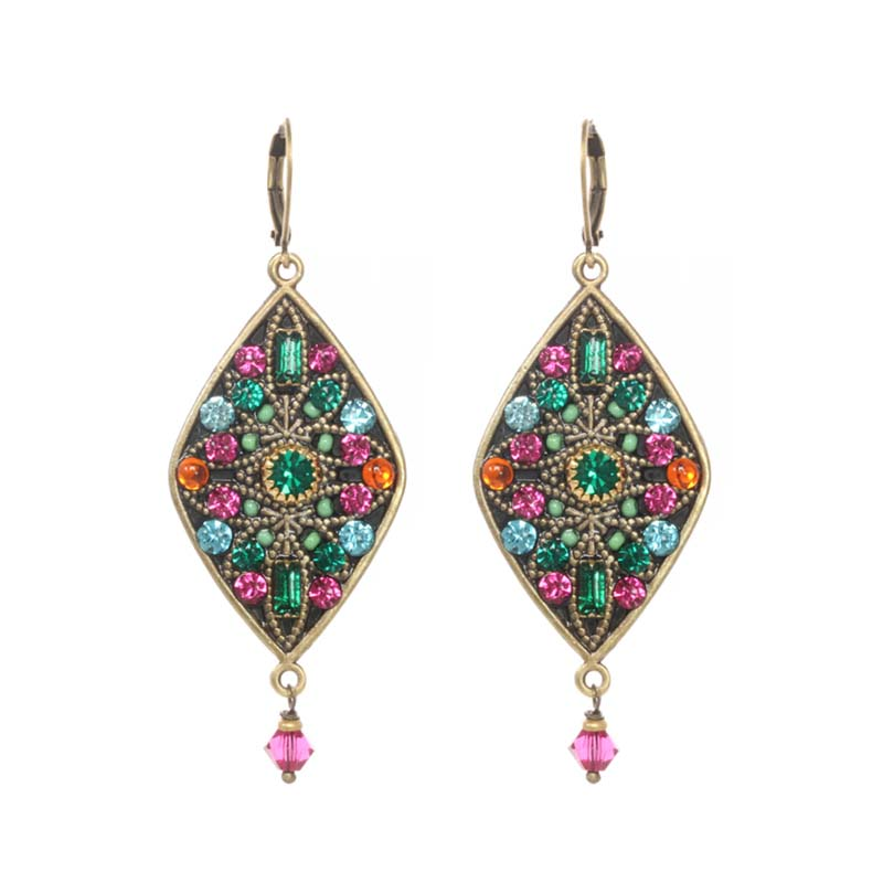 Prismatic Diamond Earrings