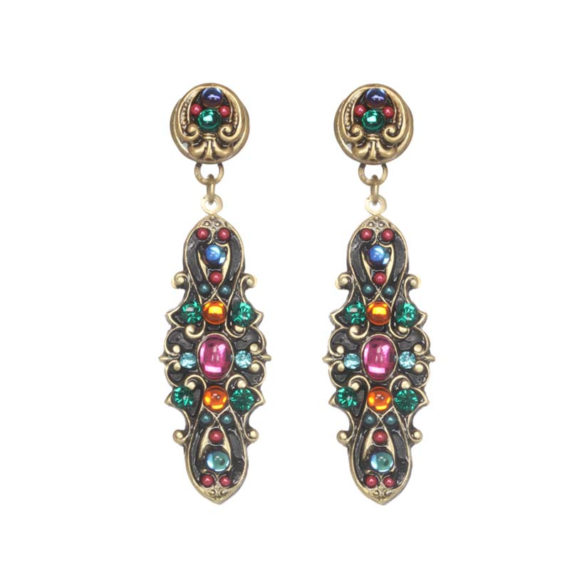 Prismatic Drop Earrings