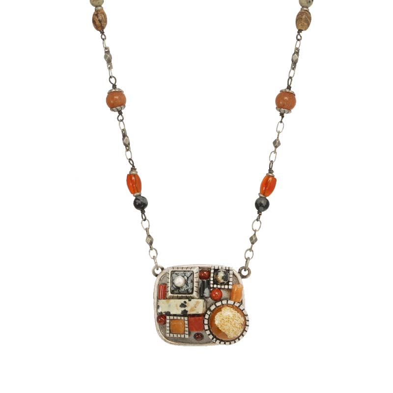 Safari Square Necklace