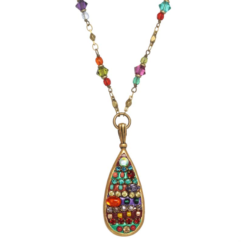 Multibright Drop Necklace