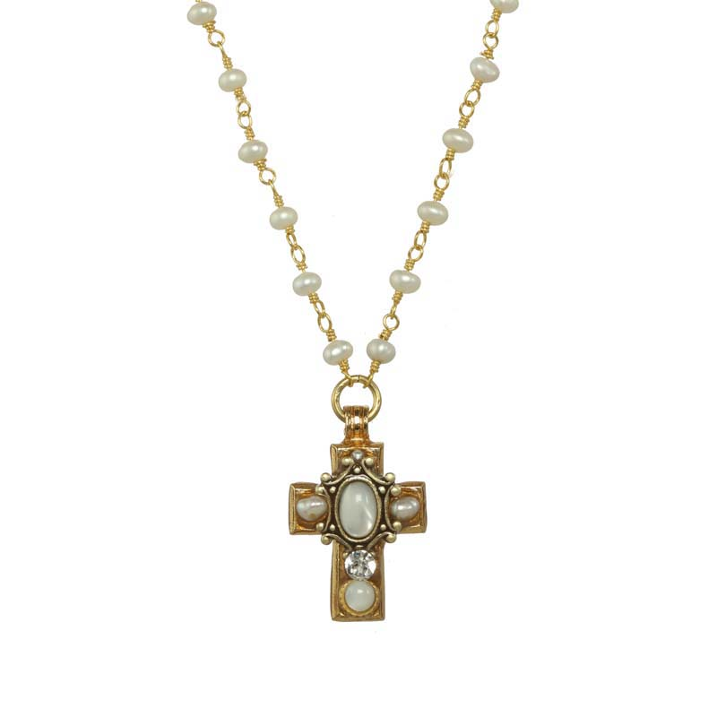 Elegante Cross Necklace