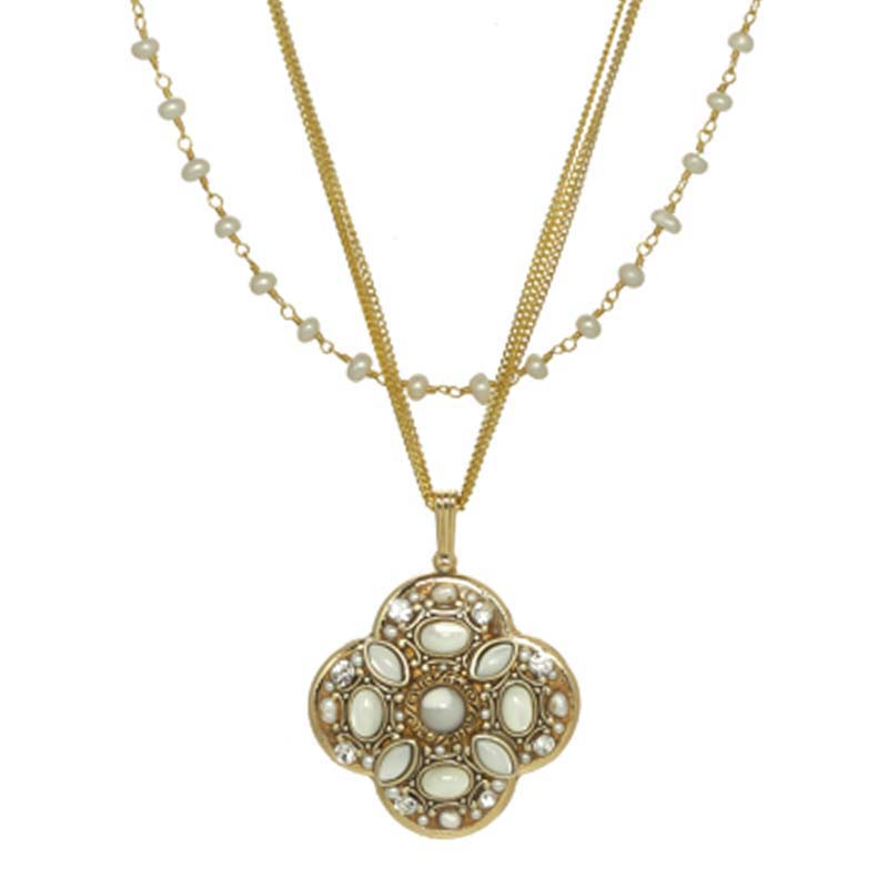 Elegante Clover Necklace