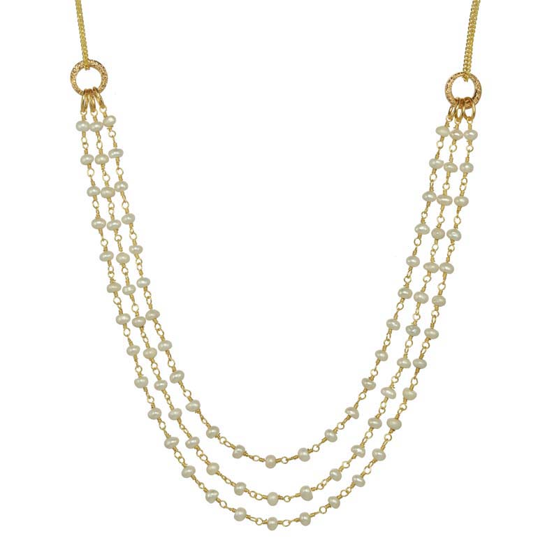 Elegante Pearl Necklace