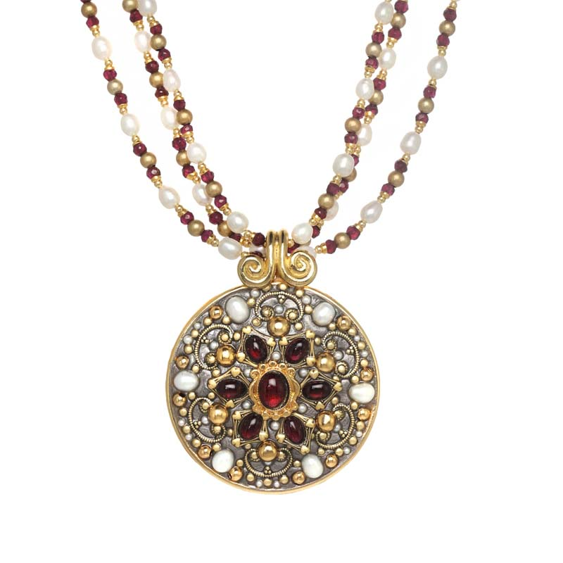 Victorian Medallion Necklace