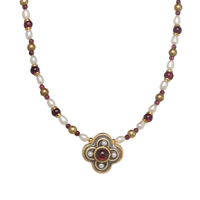 Victorian Clover Necklace