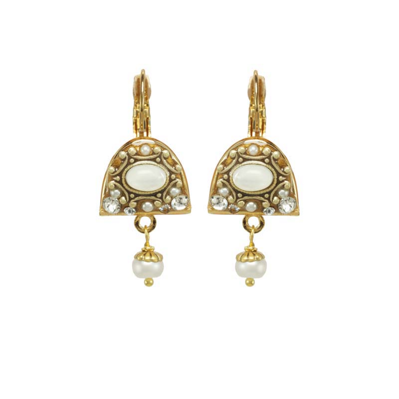 Elegante Half Circle Earrings