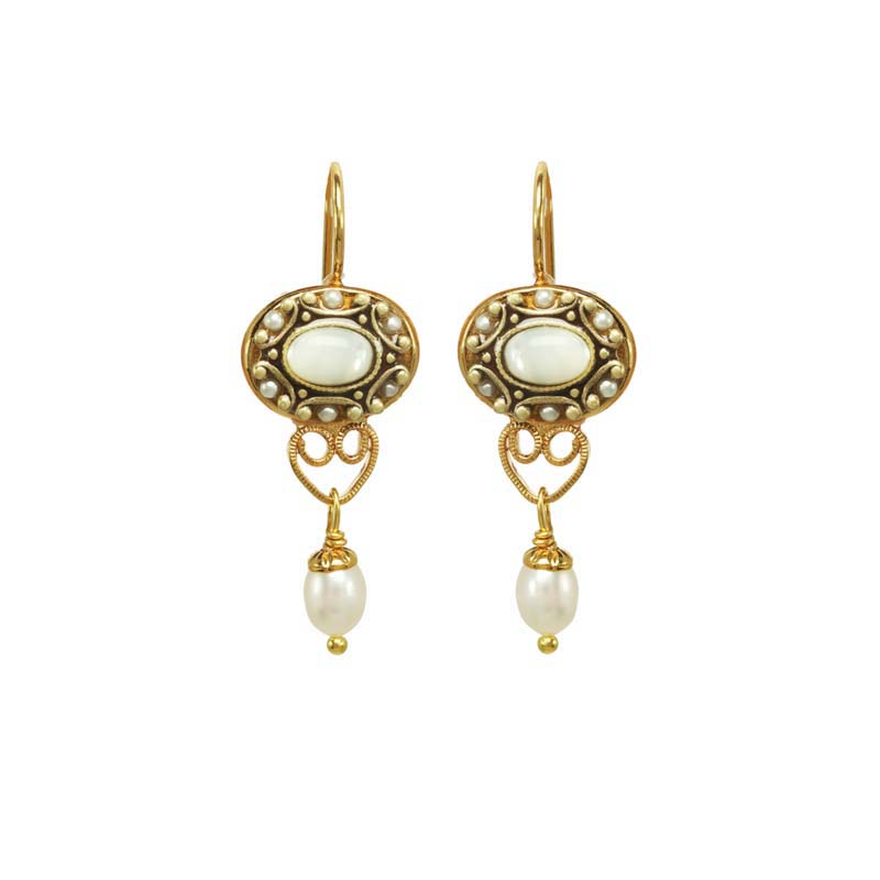 Elegante Oval Earrings