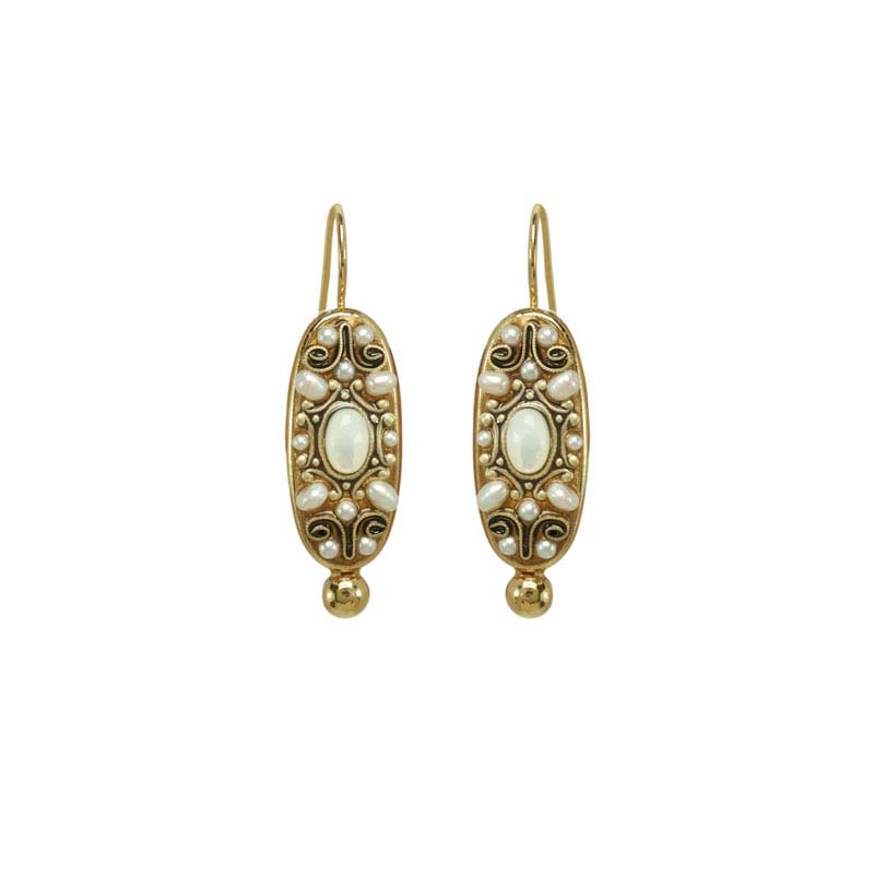 Elegante Oval II Earrings