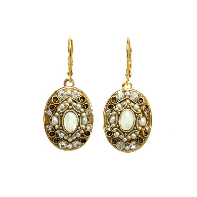 Elegante Oval III Earrings