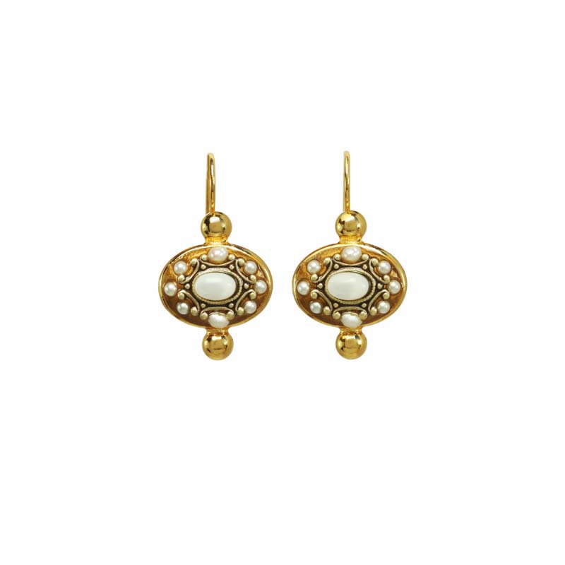 Elegante Oval IV Earrings