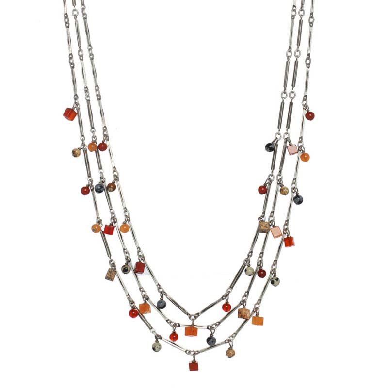 Safari Multi Layered Necklace