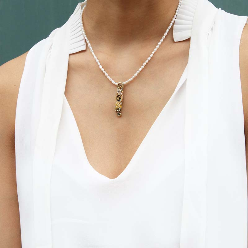 Champagne Bar Necklace