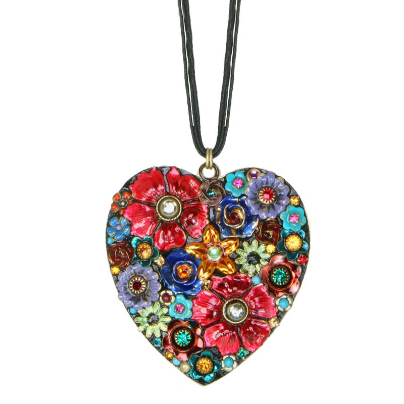Eden Large Heart Necklace