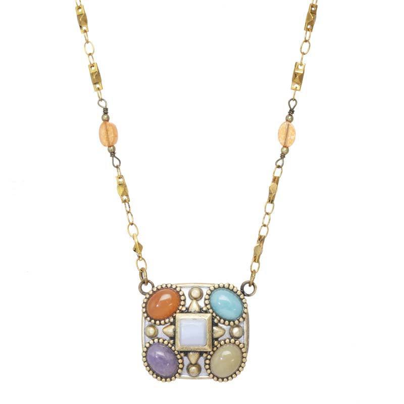 Mojave Square Necklace