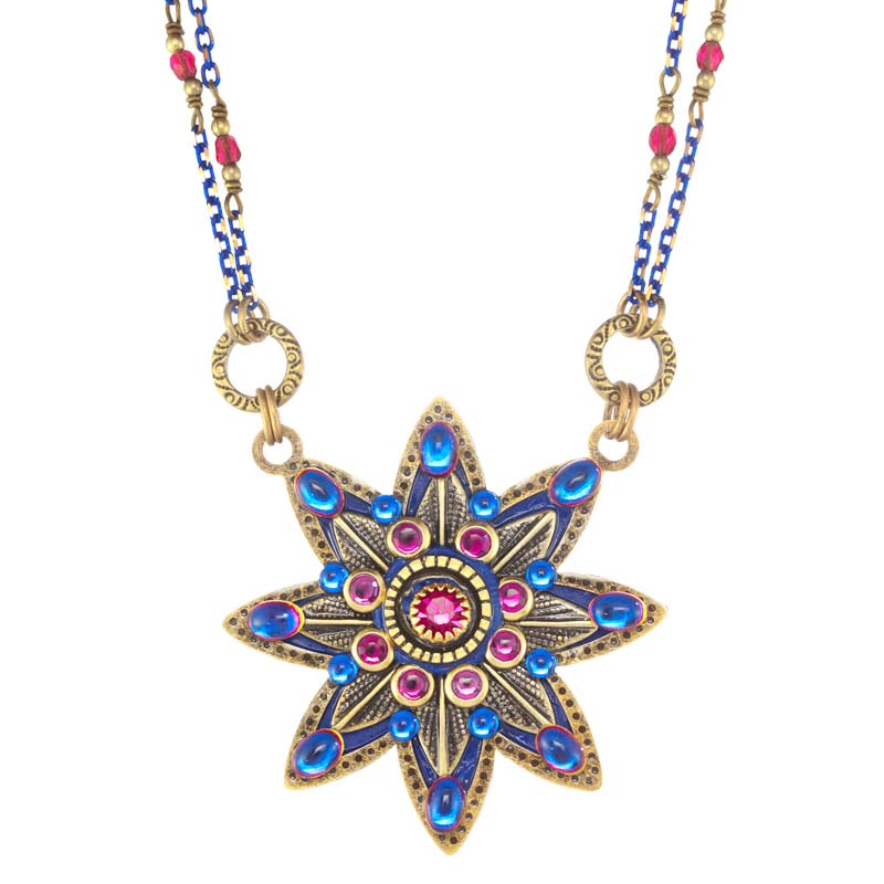 Breezy Night Star Flower Necklace