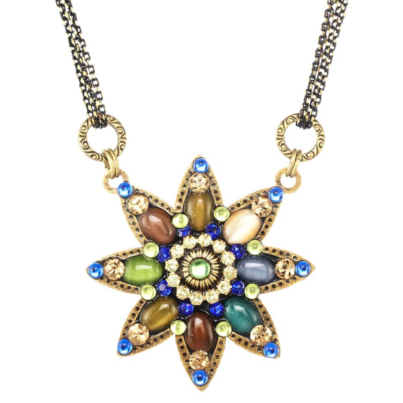 Spring Forest Star Necklace