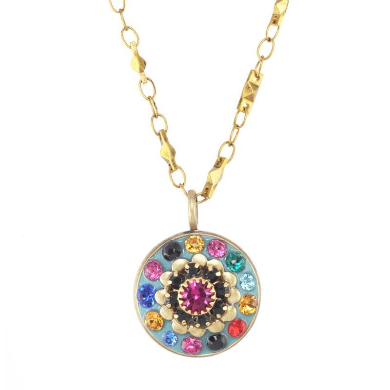 Summer Sky Small Flower Necklace