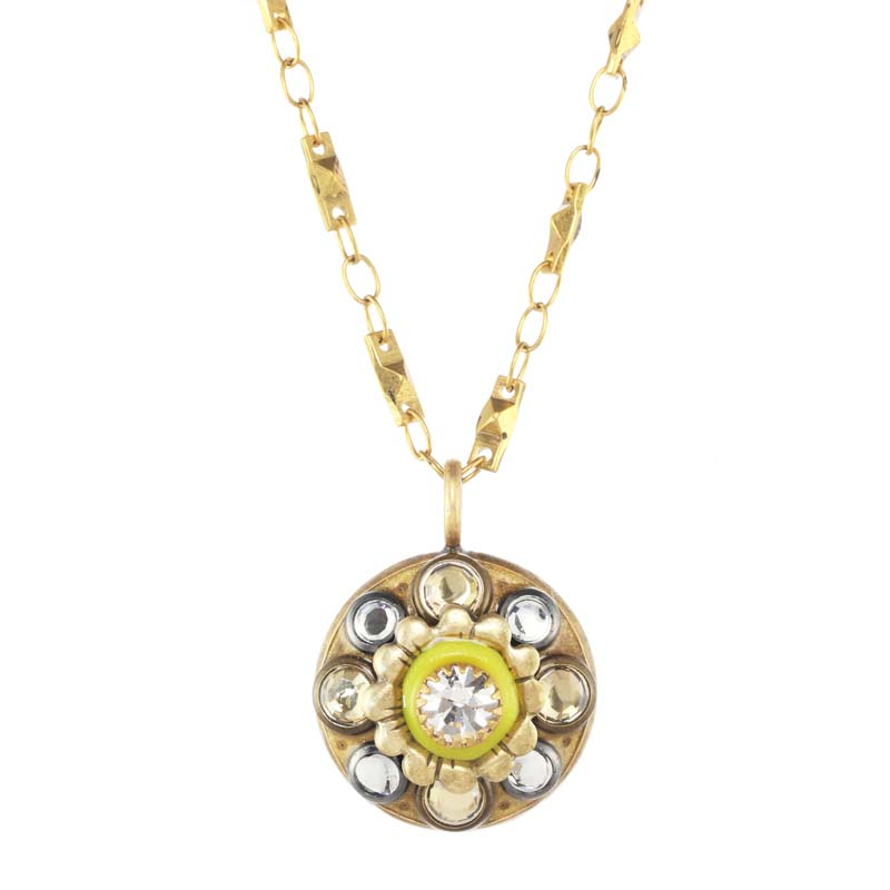 Bright Small Flower Necklace