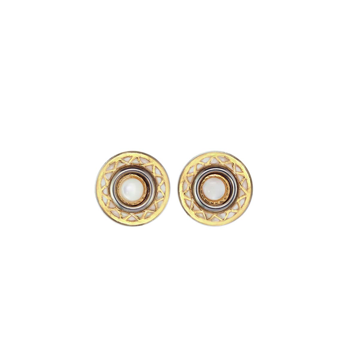 Mother of Pearl Sun Studs