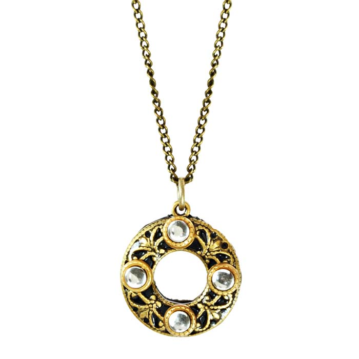 Deco Circle Necklace